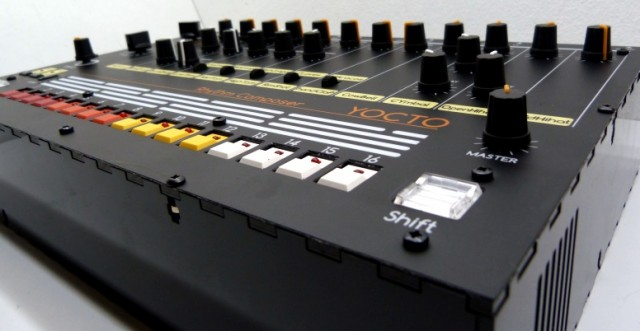 Build your own roland tr 808 drum machine clone the for Diy tr