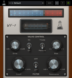 AudioThing-Valve-Filter-VF-1-GUI