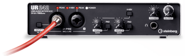 ur242-audio-interface