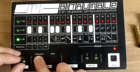 bitrumble-synthesizer