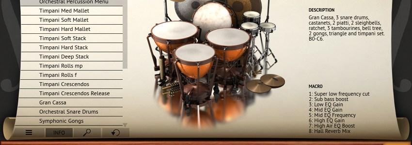 Orchestral_Percussion_Menu_MP2_Screenshot