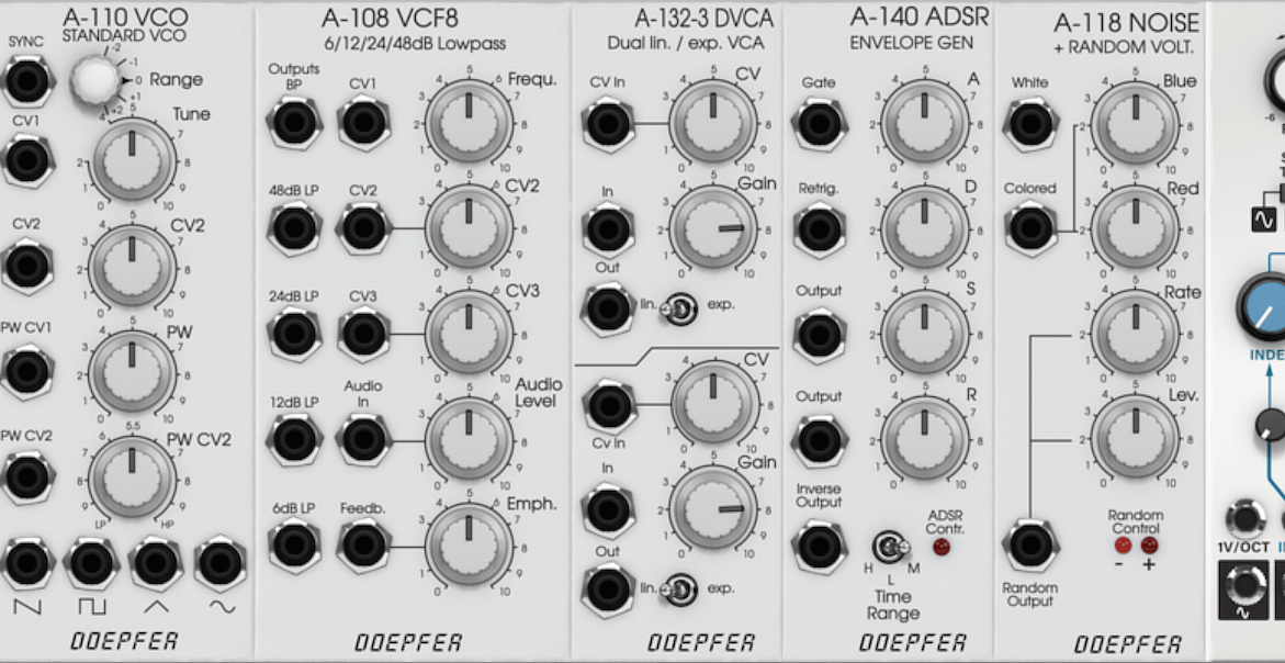 Softube Modular Virtual Eurorack Modular Synthesizer Now