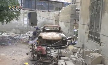 Trabant 601s DeLuxe in Daraya