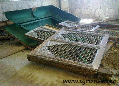 Hijir Bin Adi al-Kindi grave in Damascus countryside