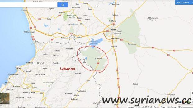Map of Qussayr City
