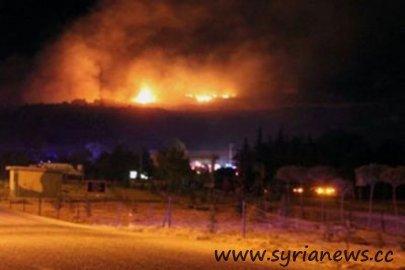 Explosion Near Latakia