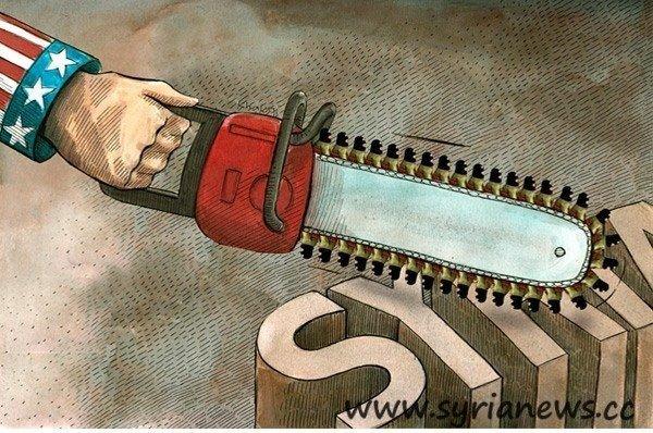 US is using Al-Qaeda against Syria