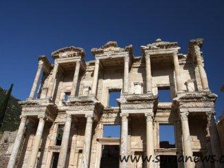 Library of Celsus, Ephesus, Turkey.