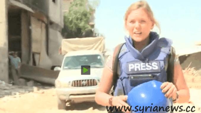 Syria: RT's Maria Finoshina in Darayya