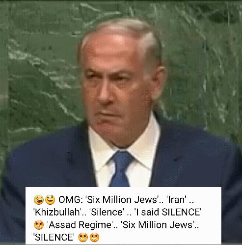 Netanyahu at the UN