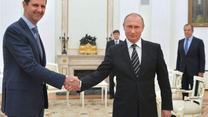 President Assad met Putin in Moscow