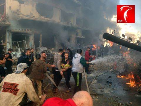 Moderate Rebels Bomb Homs Residents