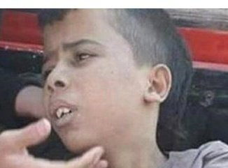 This is the Palestinian boy shot by the IDF in al Ram, 19 July 2016