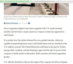 wapo gloats about tows