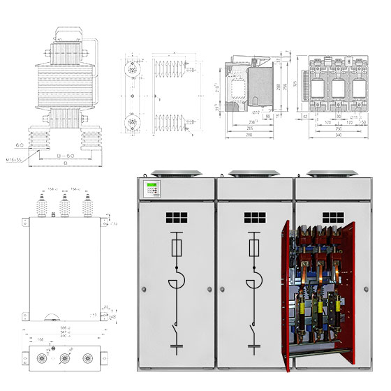 Products of SYSTEM ELECTRIC - power correction and quality