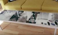 Tutoriel : dcorer sa table basse avec de la rsine poxy