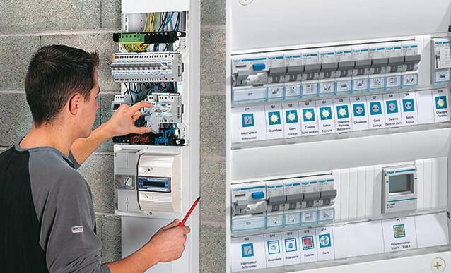 Composition et fonctions du tableau électrique - Photo Tableau Electrique Maison