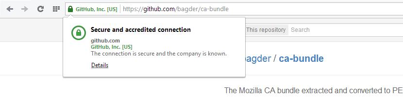 Trusted SSL Certificate in a Browser