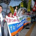 2014年6月5日(木)生涯派遣・残業代ゼロ・労働法制の大改悪反対!国会包囲大行動を行いました。