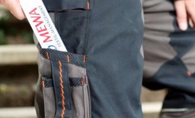 Praktische Extras für jeden Handwerker: die Arbeitshose wurde mit  11 Taschen ausgestattet, die optimal für das sichere Verstauen von Arbeitsutensilien jeder Art geeignet sind.
