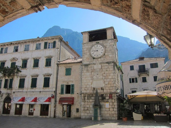 old clock tower Kotor