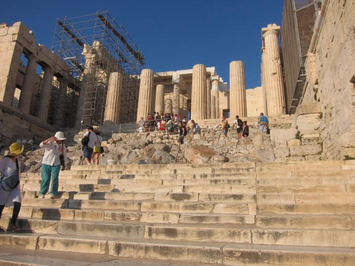 Entrance to Acropolis