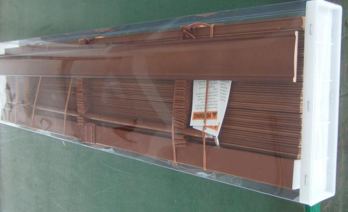 50mm 100 Basswood Venetian Blinds For Windows With Steel