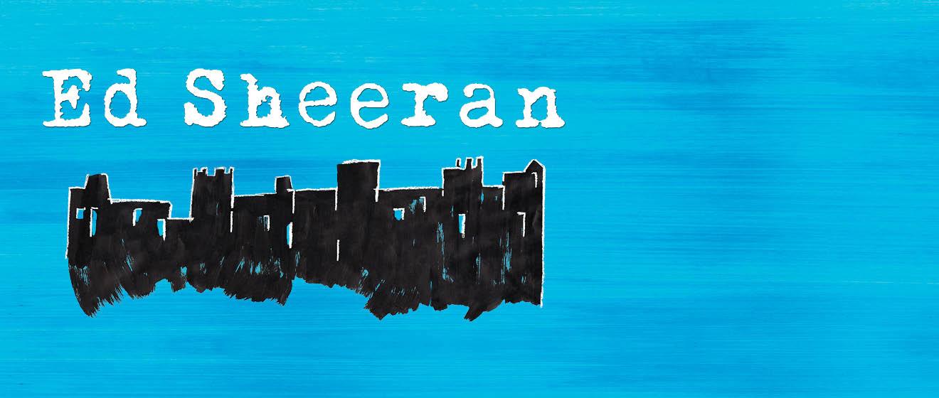 ED SHEERAN ANNOUNCES NORTH AMERICAN ARENA TOUR T-Mobile Arena