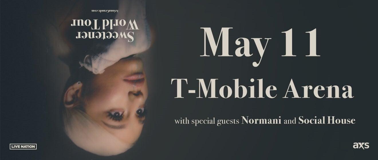 Ariana Grande T-Mobile Arena