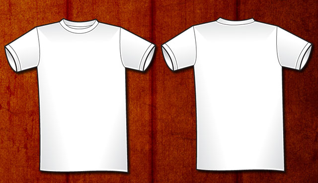 Men\u0027s basic Vector T-shirt Template Free Download T Shirt Template