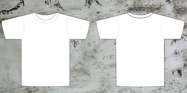 T-shirt Template Photoshop Free Download T Shirt Template