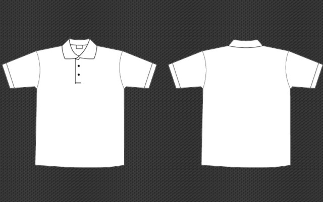Polo Collar Tee Template Free Download T Shirt Template - t shirt template