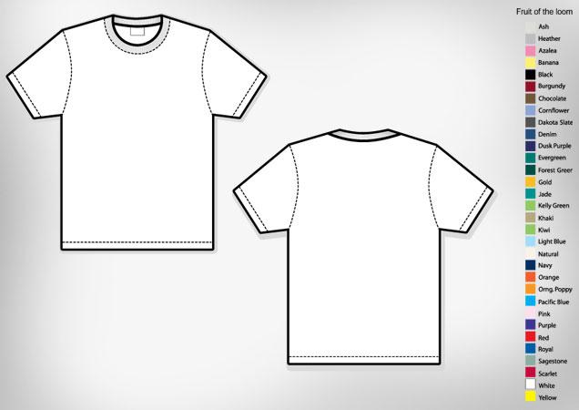 Men\u0027s Basic T-shirt Template Free Download T Shirt Template - t shirt template