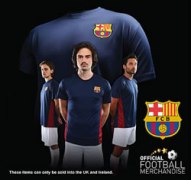 Official FC Barcelona t-shirts