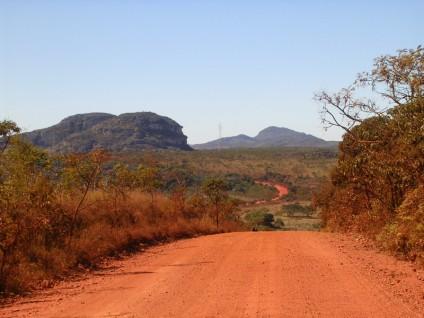 estrada para Diamantina