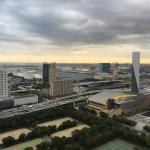 Blick über die Neulandinseln des Koto-Distrikts in Tokyo
