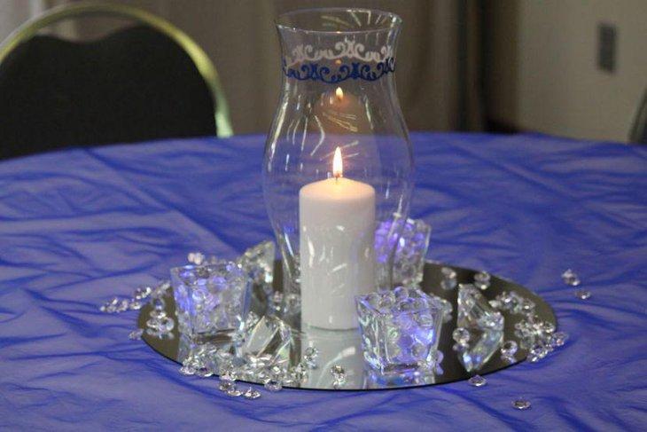 Glass Hurricane Vase Decoration Ideas Elitflat