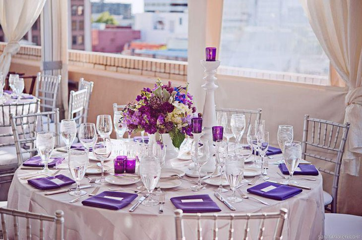 37 Beautiful Purple Party Decorations Table Decorating Ideas. SaveEnlarge