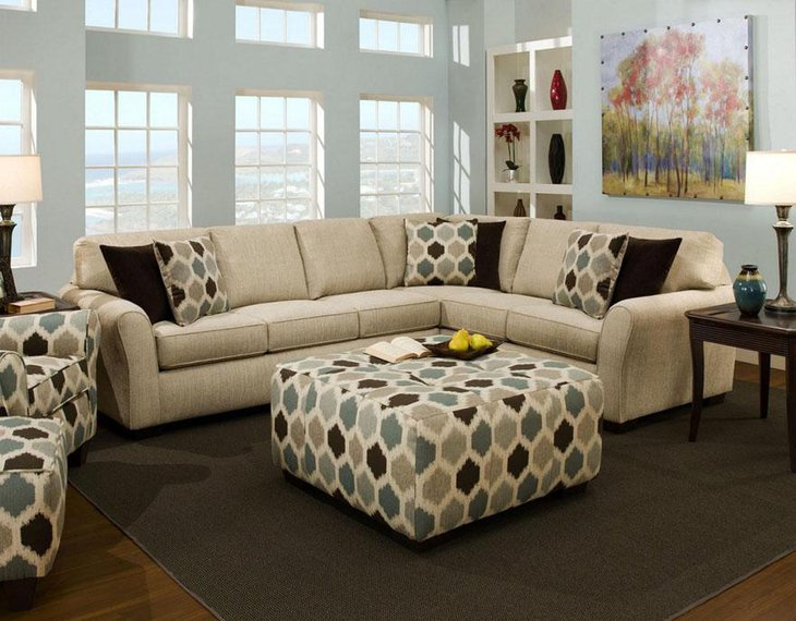 35 Amazing Ottoman Coffee Table Designs