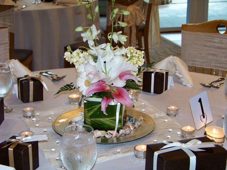 35 Black And White Wedding Table Settings Table