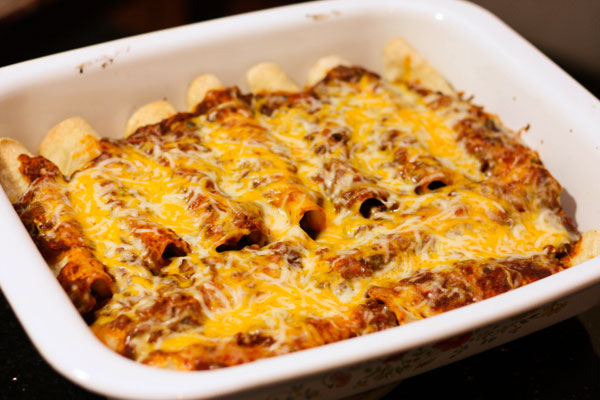 Paleo Spicy Beef and Bean Enchilada Pie