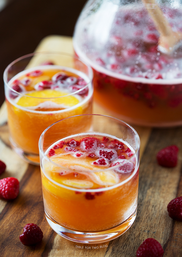 Paleo Champagne Peach Punch