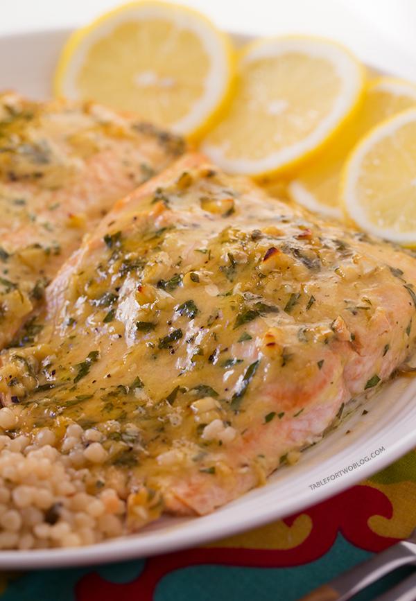 Paleo Dijon Garlic Salmon