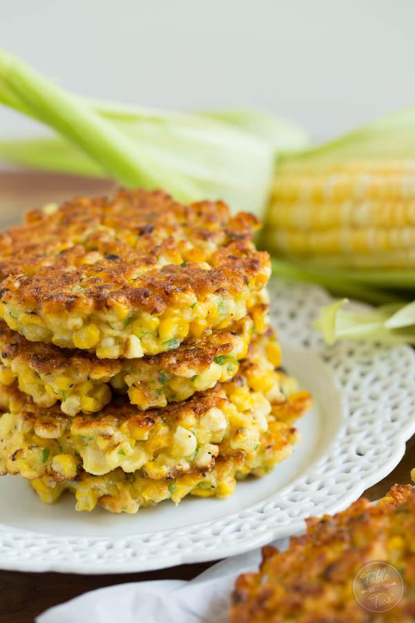 Paleo Corn Fritter Pancakes
