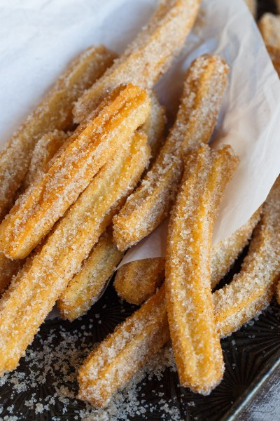 Homemade Mexican Churros - Table for Two® by Julie Wampler