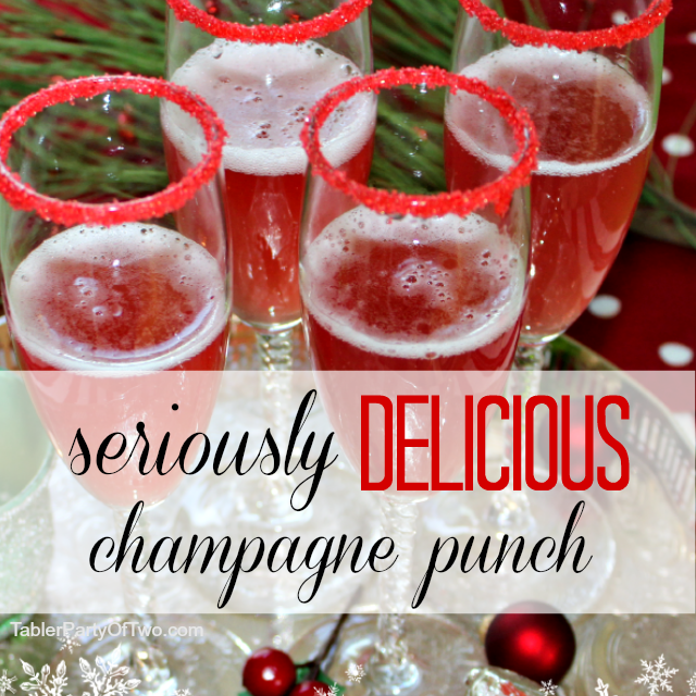 Seriously Delicious Champagne Punch