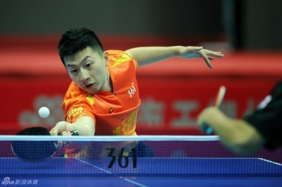 TableTennisDaily - Ma Long Met Dimitrij Ovtcharov In Round 9 Of The China Super League!