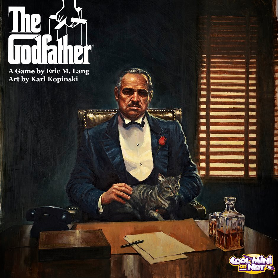 Godfather Hd Wallpaper Coolminiornot Announces The Godfather Board Game