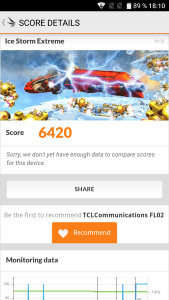 TCL Flash Plus 2 Benchmark