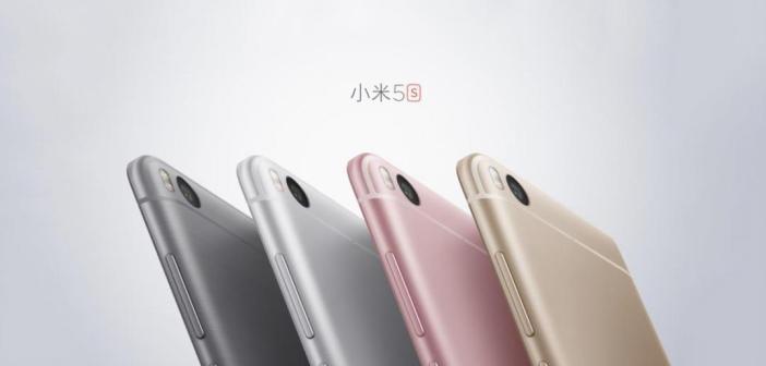 Xiaomi Mi5s et Mi5s Plus : caractéristiques, prix et date de disponibilité